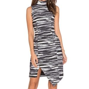 XXS Keepsake Subtract Dress Painted Stripe